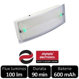 Corp de iluminat de urgenta cu LED, autonomie 90 min GR-8/led