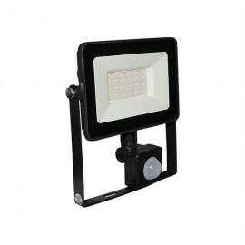 Proiector cu LED si senzor de miscare antracit 20W 4000k