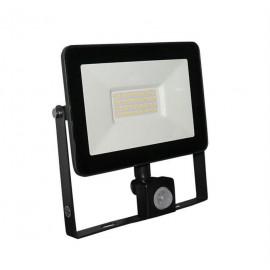 Proiector cu LED si senzor de miscare 30W antracit 4000k