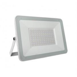 Proiector slim alb cu LED 100W  6200k