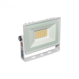 Proiector slim alb cu LED 10W 3000k