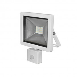 Proiector cu LED si senzor de miscare alb 10W 4000K