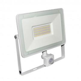 Proiector cu LED si senzor de miscare 50W, alb, 4000k