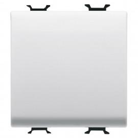 Intrerupator cap scara simplu Gewiss Chorus GW10071, incastrat, modular - 2, alb