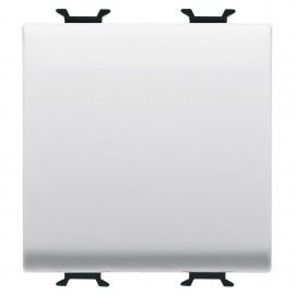Intrerupator cap cruce Gewiss Chorus GW10101, incastrat, modular - 1, alb