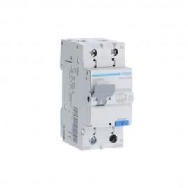 Disjunctor diferential P+N 10A 30mA 4,5kA tip AC Hager