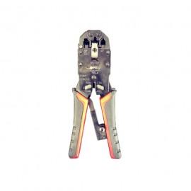 Cleste sertizare pini terminali  4P + RJ-11,12,45 4,6,8-pini L:203mm
